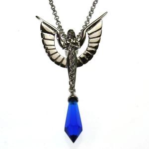 Pandantiv cristal Lanț angelic