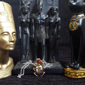 Pandantiv egiptean Scarabeu