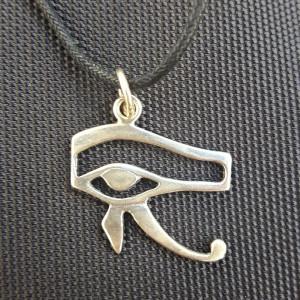 Pandantiv talisman Ochiul lui Horus - argint