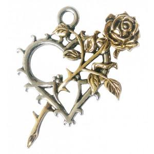 Pandantiv Trandafirul nemuritorilor