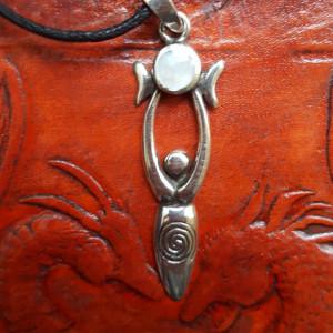 Pandantiv Zeița lunii și a nopții Circe - argint