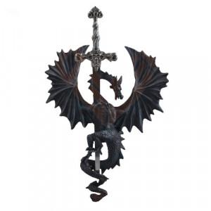 Placheta de perete Crucea Dragonului 27cm