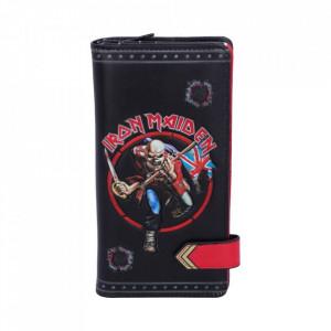 Portofel lung embosat Iron Maiden - 19 cm