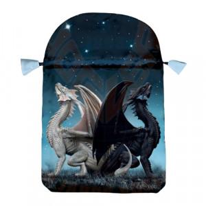 Punga satin pentru carti de tarot Dragoni