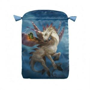 Punga satin pentru carti de tarot Unicorn