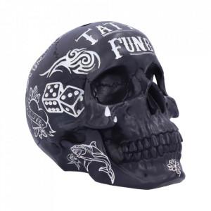 Pusculita craniu Tattoo Fund ( Negru )