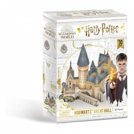 Puzzle 3D 187 piese licenta Harry Potter - The Great Hall