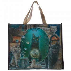 Sacosa cumparaturi cu design Pisicute magice - Lisa Parker