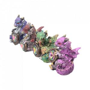 Set 4 statuete Rasplata dragonilor 5.5 cm