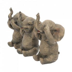 Set statuete Trei elefanti intelepti 16 cm