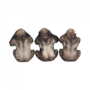 Set statuete Trei gorile intelepte 13 cm