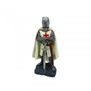 Statueta cavaler Templier cu spada