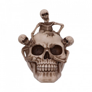 Statueta craniu Breaking Free 17.7cm