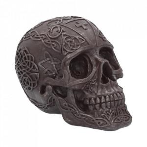 Statueta craniu Fier celtic 16 cm