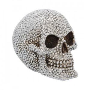 Statueta craniu Zambet Nepretuit 16 cm