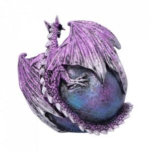 Statueta dragon Crevice Keeper (violet) 10.3cm
