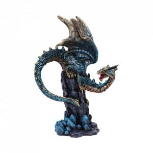 Statueta dragon Hear me Roar (albastru)