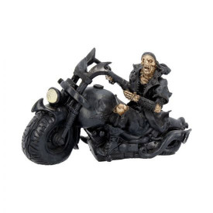 Statueta motocicleta Scrasnet de roti