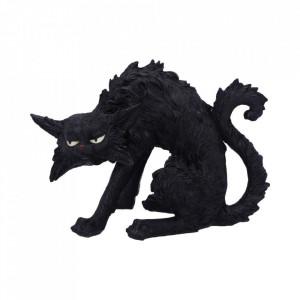 Statueta pisica neagra Ciudoasa 23.5cm