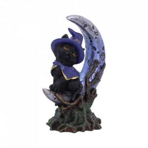 Statueta Pisicuta pe luna - Sooky 11.5 cm