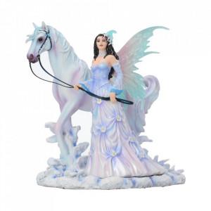 Statueta zana Aripi de iarna 26 cm Nene Thomas