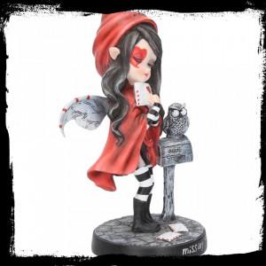 Statueta zana gotica Mi-e dor de tine 17.5 cm
