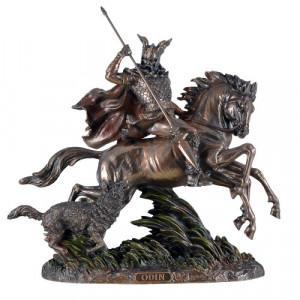 Statueta zeu nordic Odin 32cm