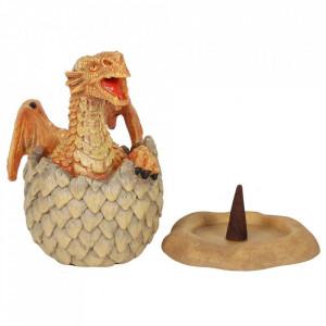 Suport conuri tamaie Dragon Galben in Ou - Anne Stokes