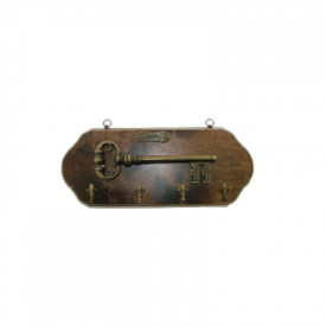 Suport de chei medieval din lemn Cheia Castelului