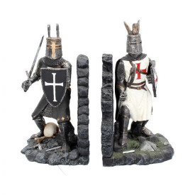 Suport lateral de cărți medieval - book end- Duelul