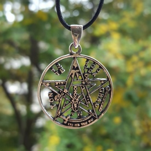 Pandantiv talisman Tetragramaton - argint