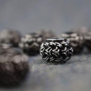 Bijuterii vikinge pentru barba/par Borre