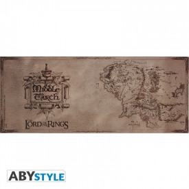 Cana ceramica licenta Lord of the Rings - Harta