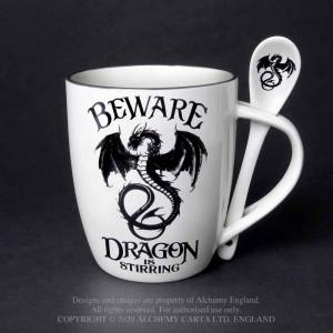 Cana cu lingura Atentie la dragon