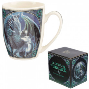 Cana din portelan dragon Protectorul Magiei - Lisa Parker