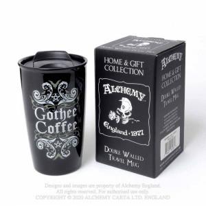 Cana termos cu capac pentru cafea Gothee Coffee