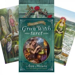 Cărți tarot Vrăjitoarea verde