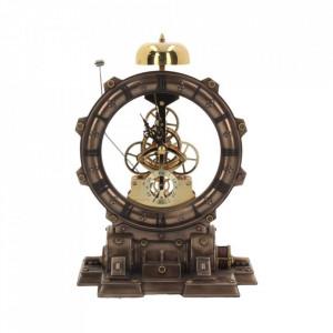 Ceas de birou steampunk Masina timpului