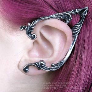 Cercel ear cuff Ureche de elf - stânga