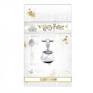 Charm placat argint licenta Harry Potter - Cazan Magic