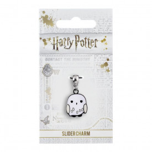Charm placat argint licenta Harry Potter Hedwig