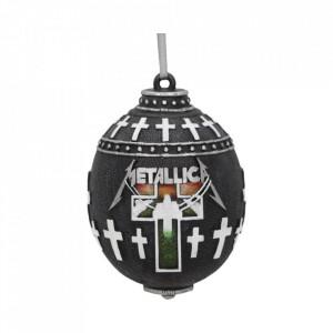 Decorațiune pentru bradul de Craciun - Metallica Master of Puppets 10cm