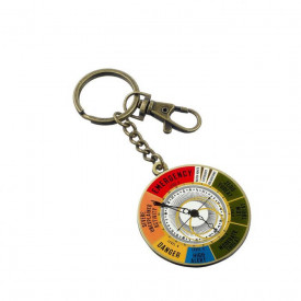Fantastic Beasts Magical Exposure Threat Level Dial Keyring