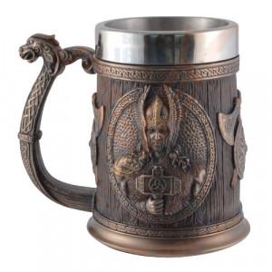 Halba viking Thor si Odin