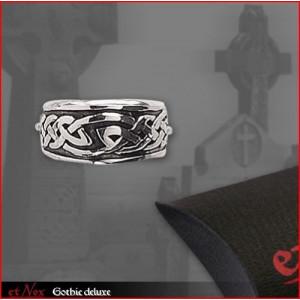 Inel argint cu Nod celtic