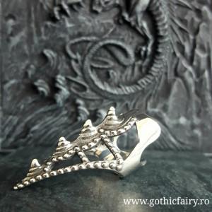 Inel gheara Dragon Tail