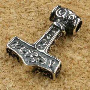 Pandantiv argint Ciocanul lui Thor 1.8 cm