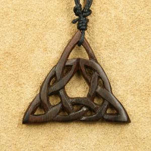 Pandantiv lemn Nod Celtic