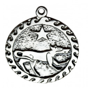 Pandantiv placat argint zodiac celtic Ser Kai 2-24 July