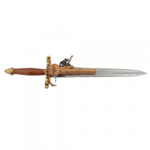 Pistol-sabie decorativa Franta 38cm